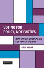 Voting for Policy, Not Parties: How Voters Compensate for Power Sharing